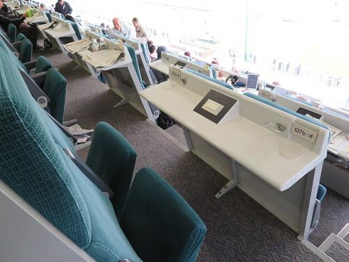 福島競馬場のシニア指定席座席