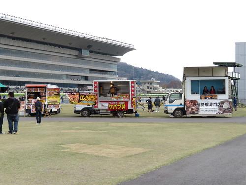 福島競馬場の内馬場のグルメカー