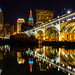 Cleveland at Night by Eridony (Instagram: eridony_prime)