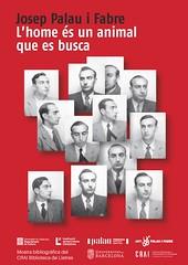 Mostra bibliográfica sobre Josep Palau i Fabre
