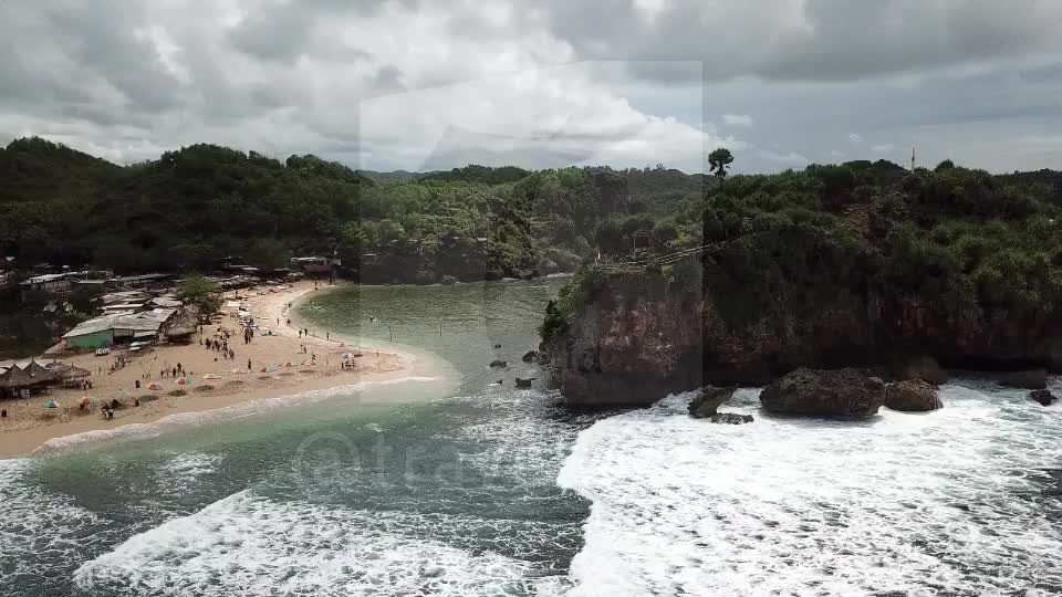 Drini Island & Beach, Gunungkidul, Jogja