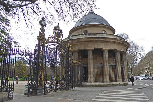 2018.04.05.02 PARIS - Rotonde du parc Monceau