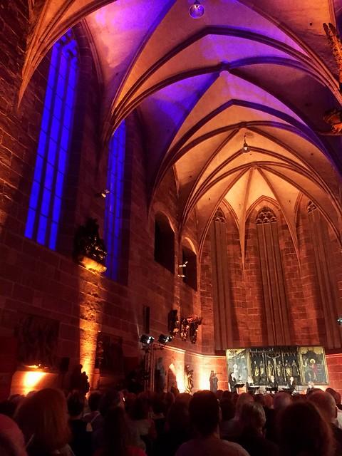 Mittelalter Musik in Kartäuser Kirche Nürnberg