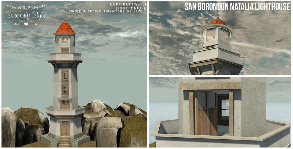 Serenity Style- San Borondon Natalia Lighthouse - TeleportHub.com Live!