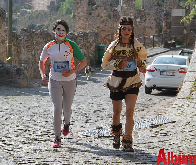 Kostümlü Alaiye koşusu bugün