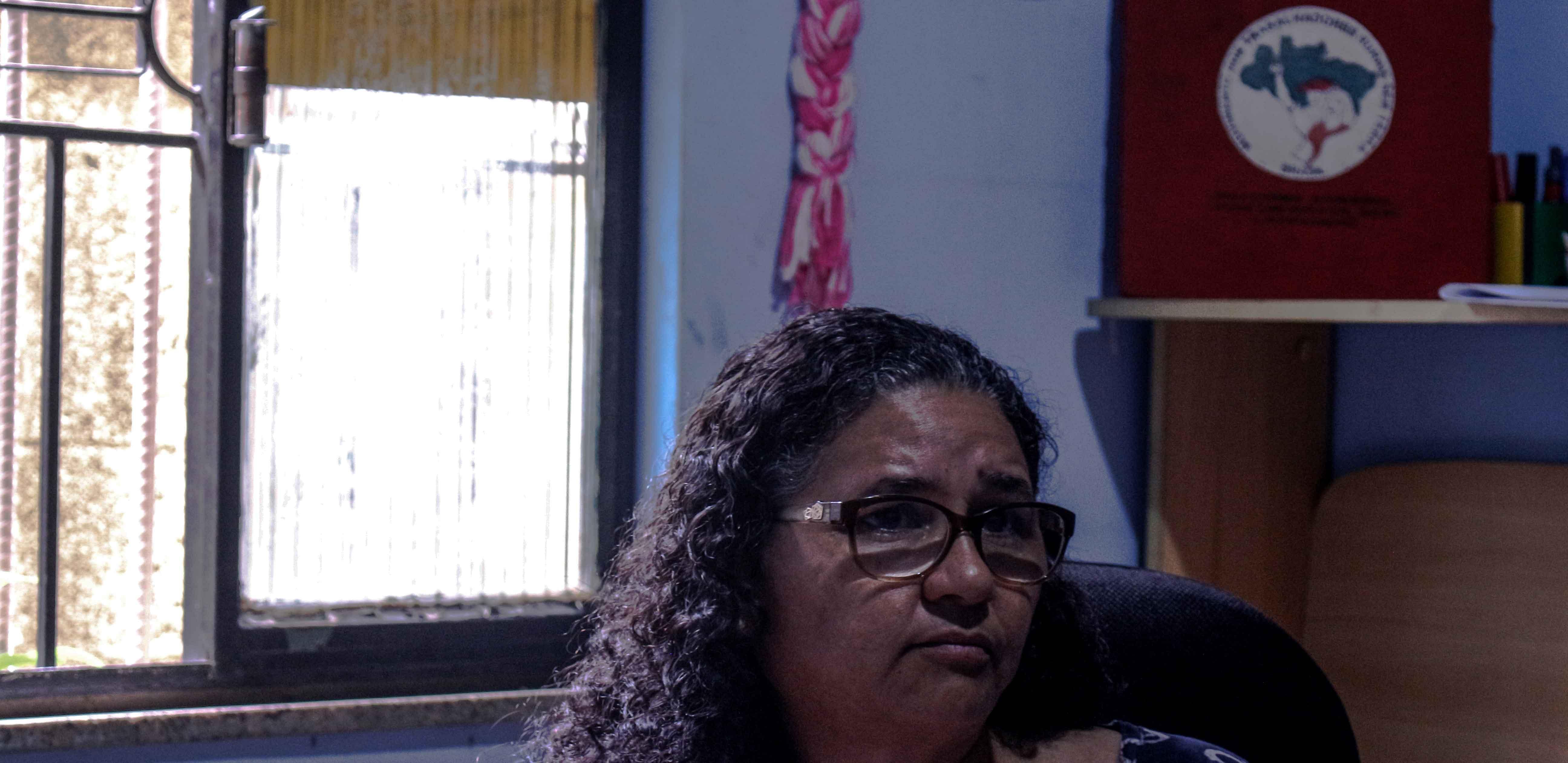 Izabel Rodrigues Lopes Filho, dirIgente estadual do MST, conheceu Fusquinha em 1992.
