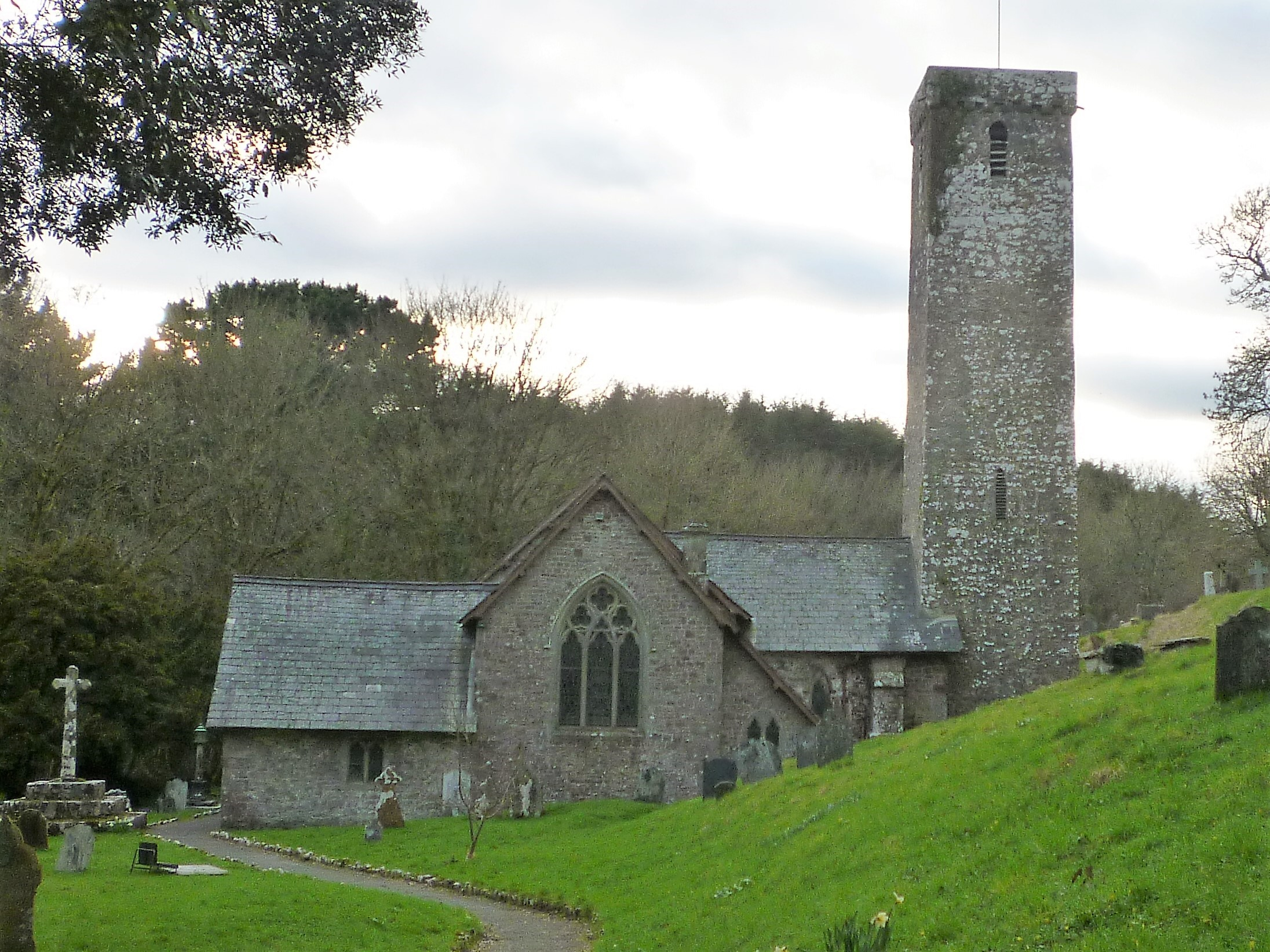 STACKPOLE, St James and St Elidyr