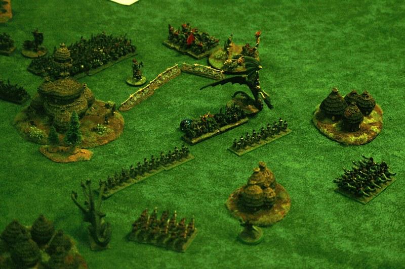 [1250 - Orcs & Gobs vs Elfes-Noirs] Attaque du village orc 26546483997_0b3709ac00_c