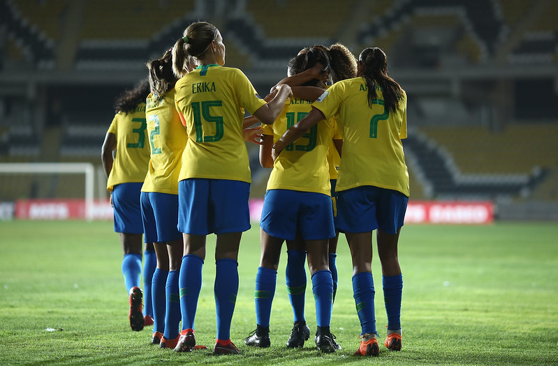 Bolívia x Brasil pela Copa América Feminina