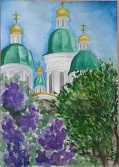 Ершова Екатерина (рук. Барышева Наталья Николаевна) - Весна в Астрахани