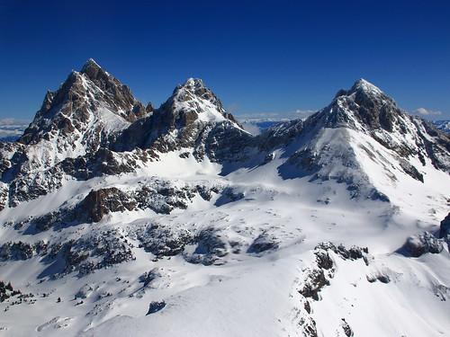 wyoming tetons teton mountains rockies rocky mountain altitude height wilderness wild snow capped terrain