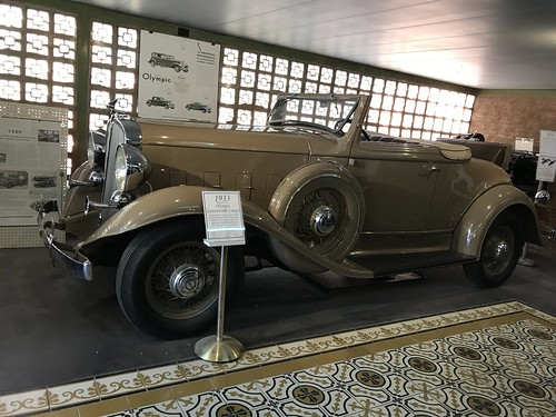 1933 Olympic Convertible Coupe, Franklin Auto Museum. From History Comes Alive in Tucson