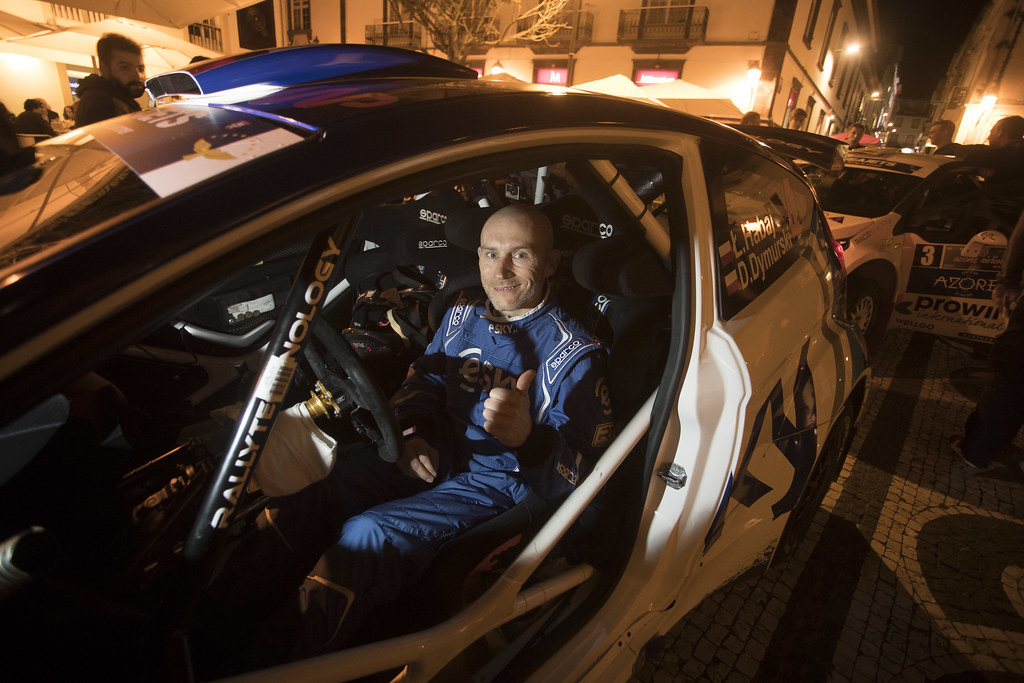 04 HABAJ Lukasz (pol), DYMURSKI Daniel (pol) , RALLY TECHNOLOGY, FORD FIESTA R5, portrait during the 2018 European Rally Championship ERC Azores rally,  from March 22 to 24, at Ponta Delgada Portugal - Photo Gregory Lenormand / DPPI