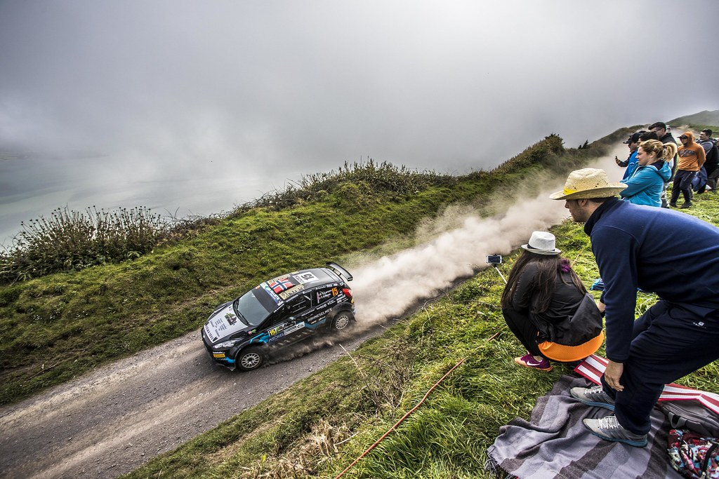 15 TORE LARSEN Frank (nor), ERIKSEN Trosten (nor), FORD FIESTA R5, action during the 2018 European Rally Championship ERC Azores rally,  from March 22 to 24, at Ponta Delgada Portugal - Photo Gregory Lenormand / DPPI