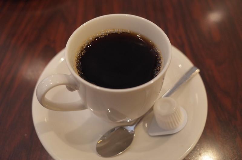 池袋東口ハイマートランチのコーヒー
