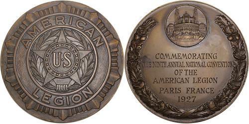 American Legion bronze Medal