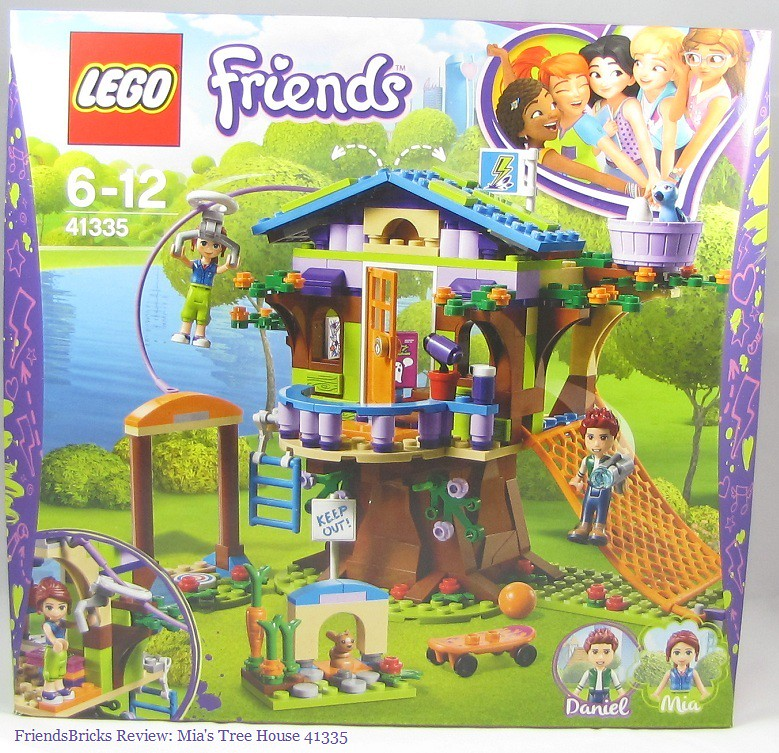 LEGO 41335 Friends Heartlake Mia/'s Tree House Playset Mia and Daniel Mini