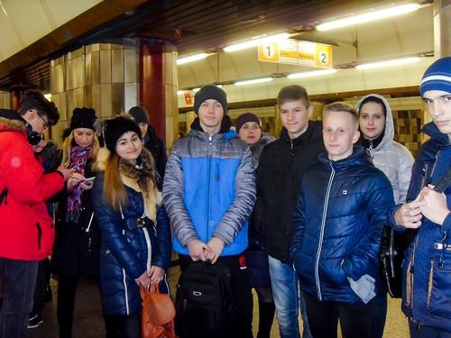 Подорож учнів 9-А, 10 та 11 класів до країн ЄС 03.2018