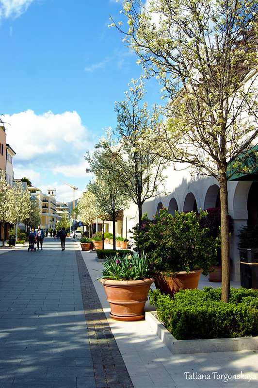 Весна в Порто Монтенегро