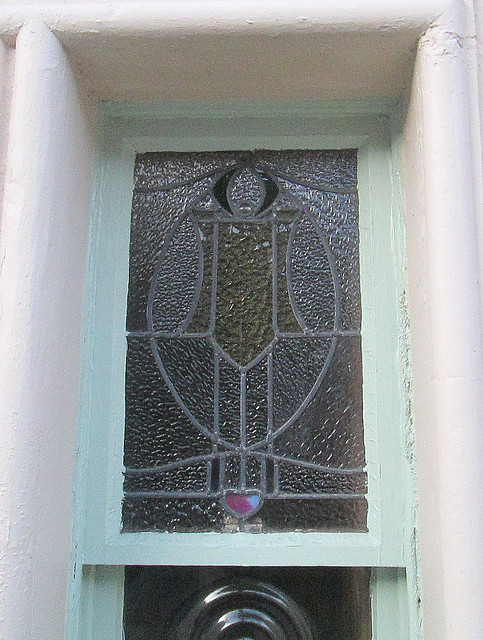 Art Nouveau Glass Window