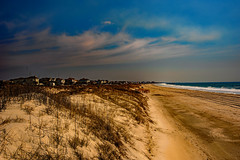 The beach at Emerald Isle, NC