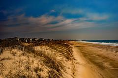 The beach at Emerald Isle, NC