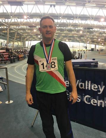 Mark Gibbs British Masters Indoor Championships 2018