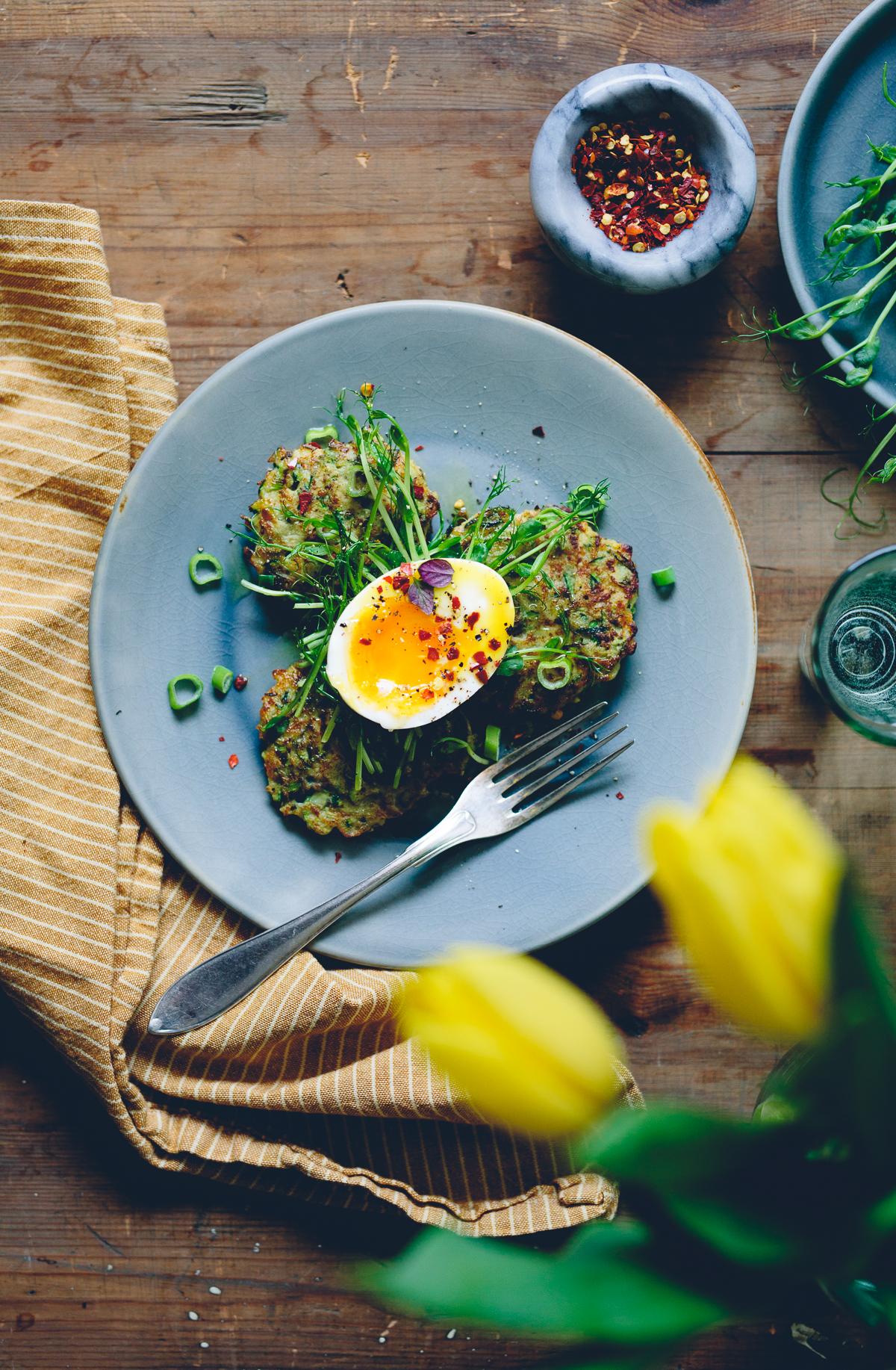 Zucchini Fritters | Cashew Kitchen