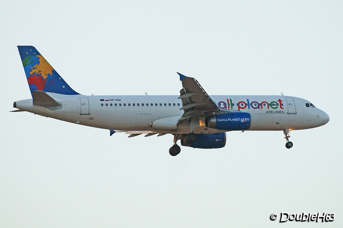 SP-HAI A320 Small Planet TFS