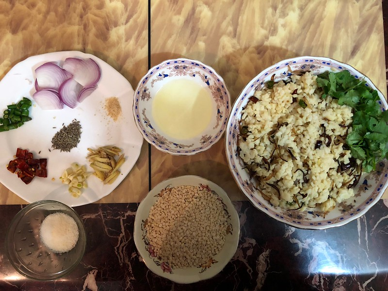 Julia Child in Delhi –  Poet Mateen Amrohvi Serves Up Poet Ghalib's Favroite Daal, Central Delhi