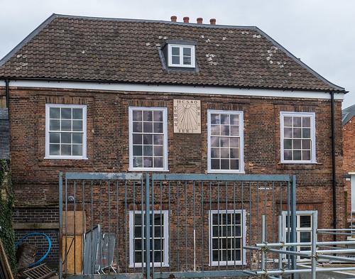 Howard House - restoration not quite finished yet...