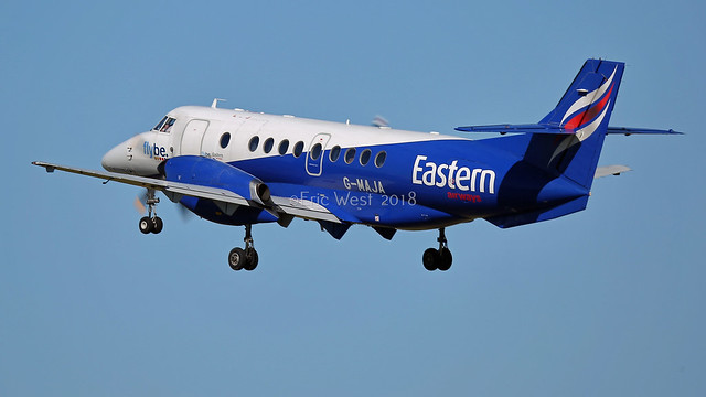G-MAJA JETSTREAM 41 EASTERN AIRWAYS, Canon EOS 5D MARK III, 150-600mm F5-6.3 DG OS HSM | Sports 014