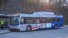 WMATA Metrobus 2006 New Flyer DE40LFR #6040