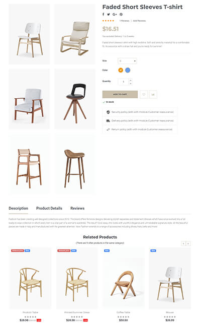 Product image gallery