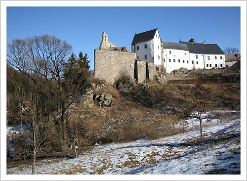 castrum Levensteyn - die Grenzburg im Osterzgebirge