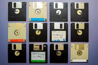 old computer disks