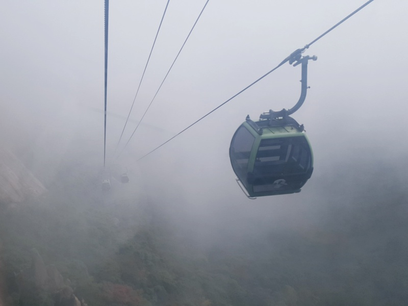 Huangshan cable cars