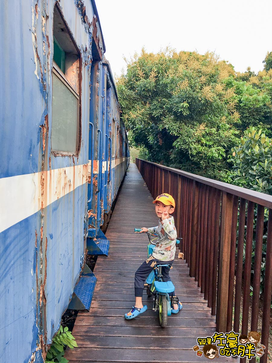 舊鐵橋(屏東端)火車