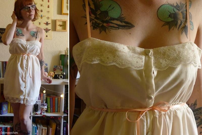 babydoll soft lace handmade 60s edwardian 20th century midcentury