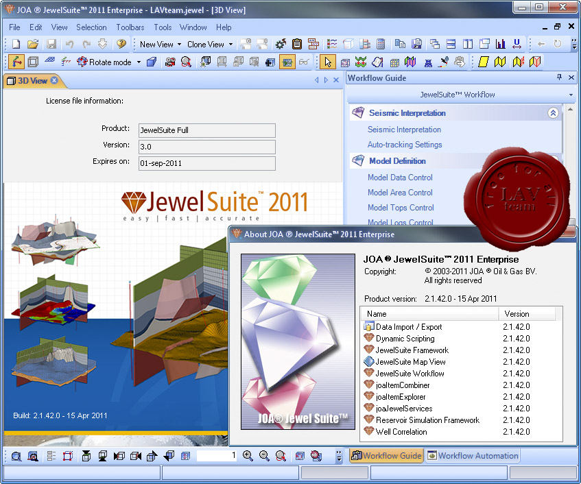 Working with JOA JewelSuite Enterprise 2011 v2.1.42.0 full