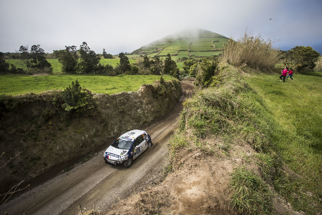 45 MUNNINGS Catie (gbr) STEIN Anne Katharina (deu), Sainteloc junior Team, Peugeot 208 R2, action during the 2018 European Rally Championship ERC Azores rally,  from March 22 to 24, at Ponta Delgada Portugal - Photo Gregory Lenormand / DPPI