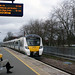 herts - thameslink 12 car 700132 arrives stevenage en route to horsham 23-3-18 JL