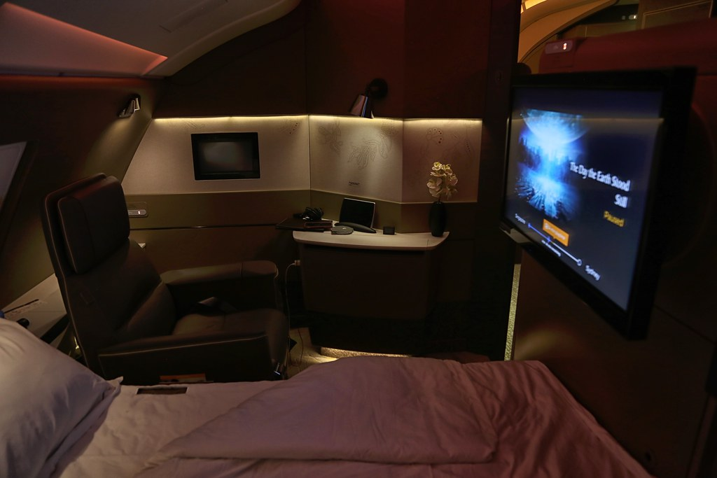 Singapore Airlines First Class Suites 96