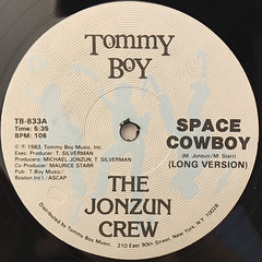 THE JONZUN CREW:SPACE COWBOY(LABEL SIDE-A)