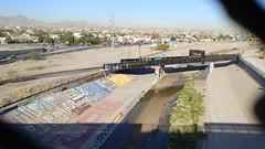 Rio Grande River at Paso Del Norte Bridge