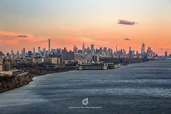 New York City at Sunset from George Washington Bridge