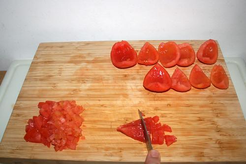 35 - Tomaten würfeln / Dice tomato