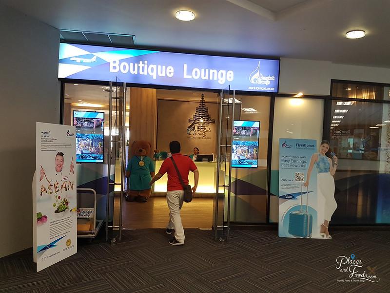 bangkok airways boutique lounge chiang mai airport