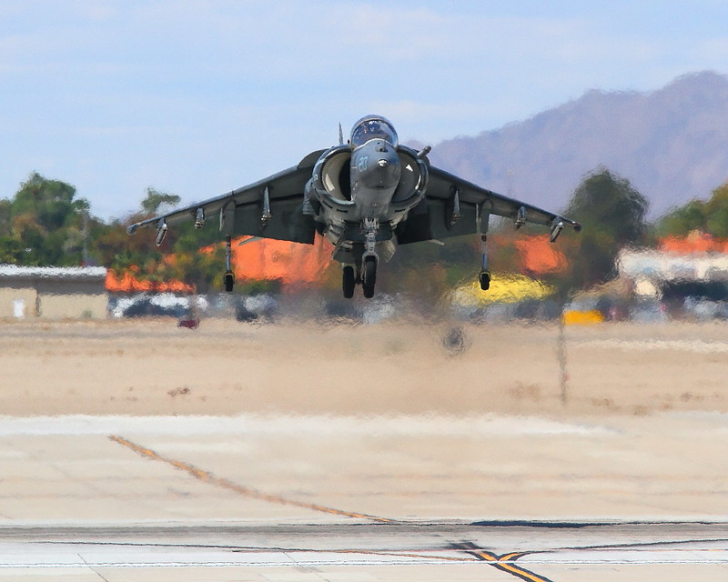 IMG_3602 AV-8B Harrier, MCAS Yuma Air Show