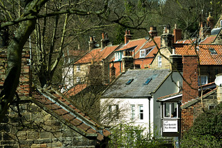 20170331-52a_The Old Bakery Tea Rooms - Robin Hoods Bay Village Roof Tops